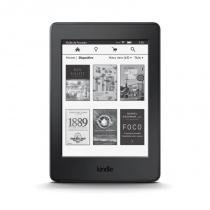 "E-Reader Amazon Kindle Paperwhite Preto com tela de 6"" Wi-fi e 4GB de memória - Amazon"