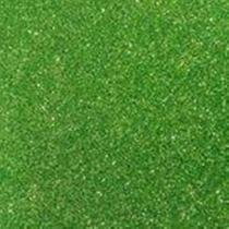 E.v.a 2mm 40x48 glitter verde grama - Make+