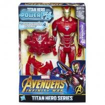 E0606 marvel titan hero 30cm power fx homem de ferro - Hasbro