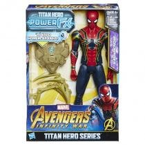 E0608 marvel titan hero 30cm power fx homem aranha - Hasbro