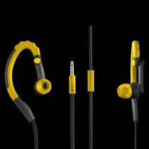 Earhook Sport Stereo Audio - PH205 - Amarelo - Pulse