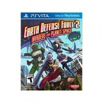 Earth defense force 2 invaders from planet space - ps vita - Sony