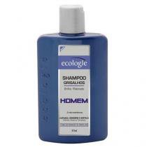 Ecologie Homem Grisalhos  - Shampoo - 275ml - Ecologie
