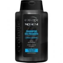 Ecologie homem shampoo uso frequente 275ml -