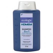 Ecologie Natural Homem 2 em 1  - Shampoo - 275ml - Ecologie