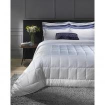 Edredom Casal Branco Luma Comfort Hedrons 2,20x2,40m -