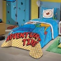 Edredom Infantil Adventure Time Brilha no Escuro - Lepper -