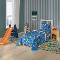Edredom Infantil Estampado Azul Patrulha Canina 4670601 Lepper -