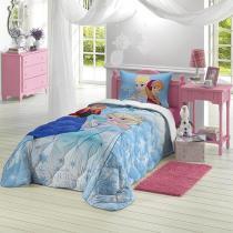 Edredom Infantil Frozen 1.50X2.00M Azul Claro 4663901 Lepper -