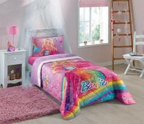 Edredom Solteiro Barbie 1,50x2,00 Lepper -