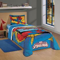 Edredom Solteiro Spider Man Ultimate - Lepper -