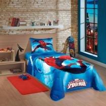 Edredom Solteiro Spider Man Ultimate Lepper - Lapper