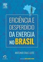 Eficiencia e desperdicio da energia no brasil - Elsevier editora
