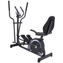 Elíptico Horizontal Dream Fitness Double Dream - MAG 5000D - Display Digital
