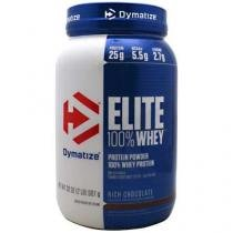 Elite Whey Protein 907g - Dymatize - Chocolate - Dymatize Nutrition