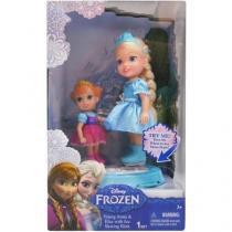 Elsa E Anna Brincam Na Neve - Sunny 1141 -
