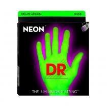 Encordoamento Baixo DR NGB5 045 Neon Green 5 Cordas - Verde - DR