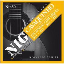 Encordoamento Cavaquinho N450 Acabamento com Bolinha 24133 - NIG - NIG