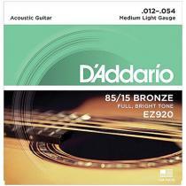 Encordoamento de Aço para Violão 6 Cordas EZ920 DADDARIO - DAddario