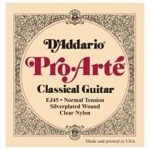 Encordoamento de nylon para violão pro-arté ej45 daddario -