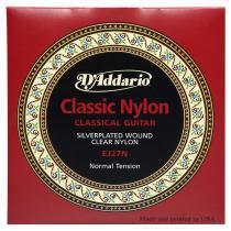 Encordoamento de nylon para violão student classics ej27n daddario -