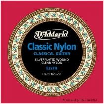 Encordoamento De Violão Nylon 6 Cordas Ej27 D Addario - Daddario
