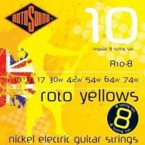 ENCORDOAMENTO GUITARRA ROTOSOUND R10-8 - ROTOSOUND