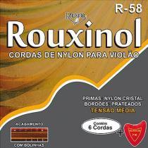 Encordoamento Nylon para Violão com Bolinha R58 24139 - Rouxinol - Rouxinol