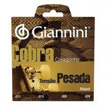 Encordoamento Para Cavaco Cobra Aço Pesada Gescp Giannini - Giannini