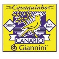 Encordoamento para Cavaquinho Aço Canário Média - Giannini - Giannini