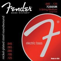 Encordoamento para Contrabaixo 5 Cordas Aço 0.45 72505M - Fender - Fender