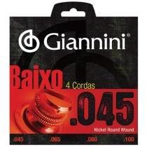 Encordoamento para Contrabaixo GEEBRS 0.45 - Giannini - Giannini