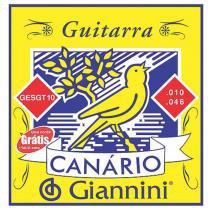 Encordoamento para Guitarra .010 Canário GESGT10 - Giannini - Giannini