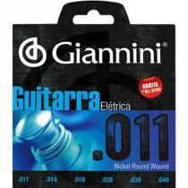 Encordoamento para Guitarra .011 GEEGST - Giannini - Giannini