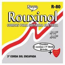 Encordoamento para Guitarra .10/.46 R80 14291 - Rouxinol - Rouxinol