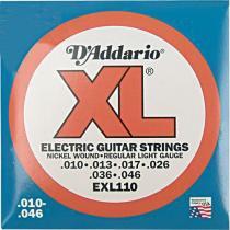 Encordoamento para Guitarra EXL110B -  DAddario - Daddario
