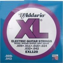 Encordoamento para Guitarra EXL120B - DAddario - Daddario