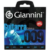Encordoamento para guitarra geegst9 super leve 0.09 giannini - Giannini