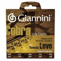 Encordoamento para viola gesvl serie cobra aco leve giannini - Giannini