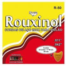 Encordoamento para Violão com Chenille R50 14285 - Rouxinol - Rouxinol