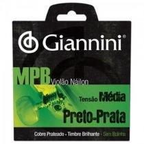 Encordoamento para violao genwbs serie mpb nylon medio giannini - Giannini