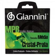 Encordoamento para violao genws serie mpb nylon medio giannini - Giannini