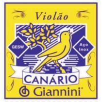 Encordoamento para violao gesw serie canario aco media giannini - Giannini