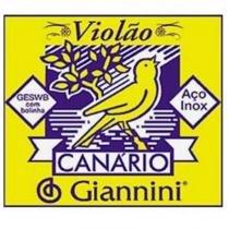 Encordoamento para Violão GESWB Série Canário Aço 0.11 - Giannini - Giannini
