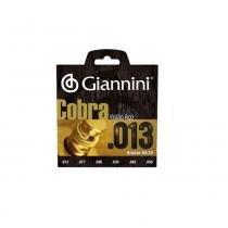 Encordoamento para violão giannini ca82m bronze 80/20 013.056 - Giannini
