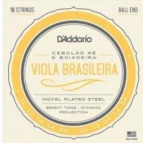 Encordoamento Viola Brasileira Cebolão Ré/Boiadeira EJ82A - DAddario - DAddario