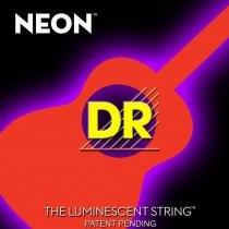 Encordoamento Violão Dr NOA 10 Aço Neon Orange - Personalizado - DR