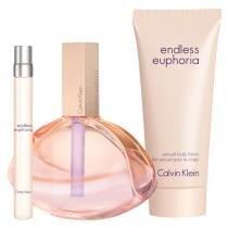 Endless Euphoria Calvin Klein - Feminino - Eau de Parfum - Kits de Perfumes - Calvin Klein