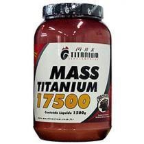 Energético Mass Titanium 17500 1,5 kg - Vitamina de Frutas - Max Titanium