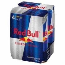 Energético Red Bull - Pack Com 4 Unidades -